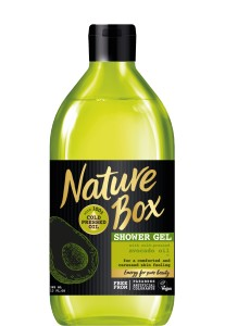 NATURE BOX Avocado Oil 385ml - żel pod prysznic