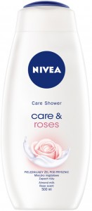 NIVEA Care Shower Care&Roses 500ml - żel pod prysznic