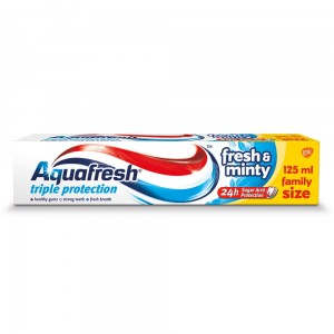 AQUAFRESH 3 Fresh & Minty 125ml - pasta do zębów