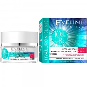 EVELINE Hyaluron Clinic 50+ 50ml - krem liftingujący