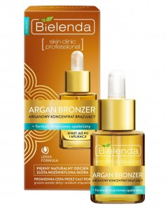 BIELENDA Argan Bronzer 15ml - koncentrat do twarzy