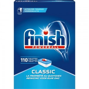 FINISH Powerball Classic 110szt - tabletki do zmywarki