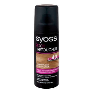 SYOSS Root Retoucher Ciemny Blond 120ml - spray maskujący odrosty