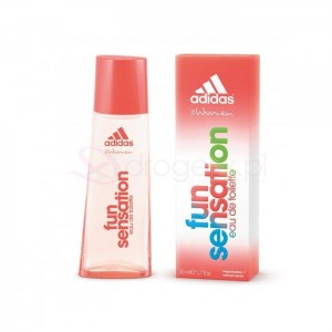 ADIDAS Women Fun Sensation 50ml - woda toaletowa