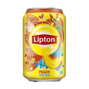 LIPTON Ice Tea Peach 330ml - napój/puszka