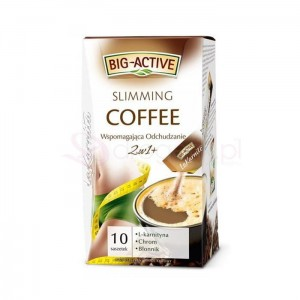 BIG ACTIVE Slimming Coffee 10szt - napój kawowy