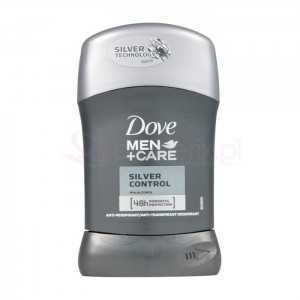 DOVE Men Silver Control 50ml - antyperspirant w sztyfcie