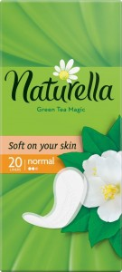 NATURELLA Green Tea Normal 20szt - wkładki