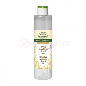 GREEN PHARMACY 250ml Owies - płyn micelarny