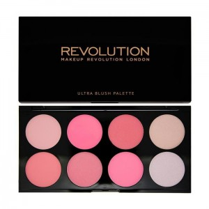 MAKE UP REVOLUTION Blush Pink 13g - róż do policzków