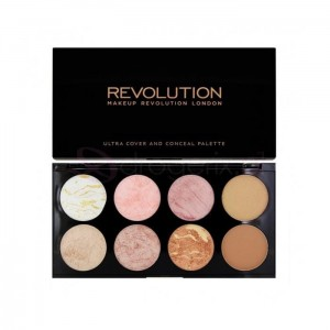 MAKEUP REVOLUTION Blush Golden Sugar 13g - paleta bonzerów do twarzy