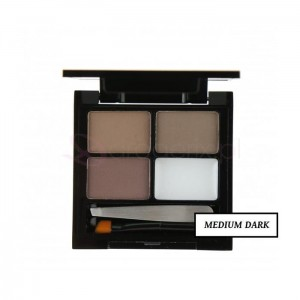 MAKE UP REVOLUTION Focus Fix Medium Dark 5,8g - zestaw do brwi